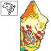 Serras e pantanais arenosos: solos e ...